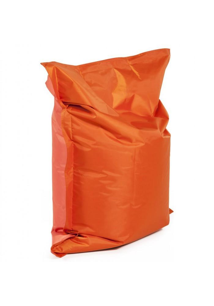 Pouf poire à billes orange à petit prix. Coloris tissu pour ...