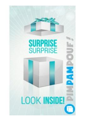 Pouf Box Cadeau